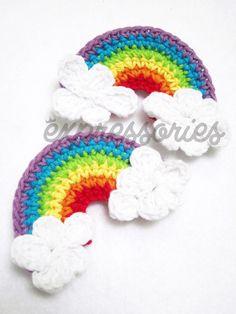 Rainbow Crochet :)
