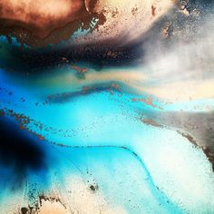Mitch Gobel resin art