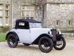 1931 Morris Minor SV 2 Seater -