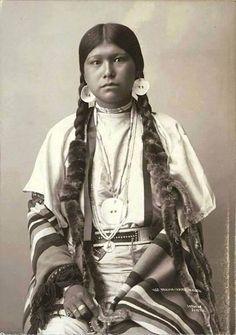 Yakama native American woman, Washington, ca. 1896