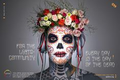 QLatinx Outdoor Advert By The Bloc: Day of the dead | Ads of the World™