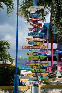 Divi Flamingo Resort - Bonaire, Netherlands Antilles by Timothy Wildey, Flamingo Resort, Flamingo Beach, Willemstad, Photo Nom, Mundo Hippie, Thinking Day, Beach Bars, Beach Signs, Beach Resorts