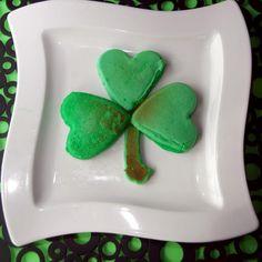 St. Patrick's Day-food ideas-Pancakes