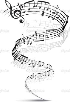 Music Notes Twisted Into A Spiral Stock Photos - Image: 10341763 Music Tattoo Designs, Music Tattoos, Tatoos, Music Staff Tattoo, Sheet Music Tattoo, Music Tattoo Sleeves, Music Notes Art, Music Music, Live Music