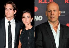 Demi Moore et Ashton Kutcher Bruce Willis