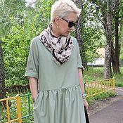 БОХО платье  из льна  натуральное №17 Льняная одежда - купить или заказать в интернет-магазине на Ярмарке Мастеров   Летнее платье  из не крашенного натурального…