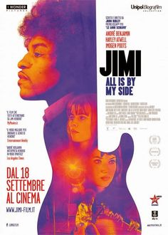 New Poster of Jimi All Is By My Side starring Andre Benjamin as Jimi Hendrix : Teaser Trailer