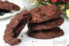 Double Chocolate Chunk Cookies :: Home Cooking Adventure