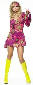 Hippie Girl Costume Adult Size