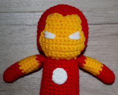 Crochet Super Hero, Super Hero, Ironman, Ironman Toy, Incredible Hulk, Incredible Hulk Toy, Hulk, Hulk Toy - pinned by pin4etsy.com