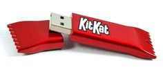 Candy wrapper flash drive
