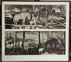 WW1 series of intaglio prints 2018/19