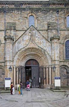 The portals are truly fortress-like. Durham City, St Johns College, Durham Cathedral, Romanesque Art, Family History Book, Carolingian, North East England, Northern England, Masons