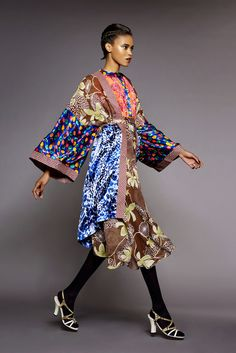 African Prints in Fashion: The Print and Fabric Mixer: Duro Olowu
