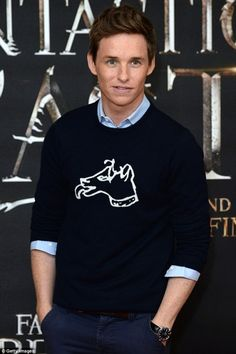 Eddie Redmayne - press event for Fantastic Beasts and Where to Find Them in London