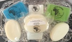 Glycerin and palm based soaps