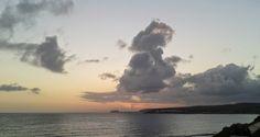 Desde las Islas Canarias  ..Fotografias  : Contemplando el Amanecer desde Meloneras en Maspal...