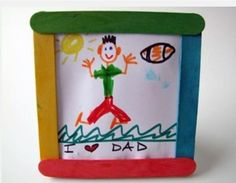 DIY Fathers Day Gifts From Kids - Quick and Easy Father's Day crafts and gift ideas clever fathers day gifts, fathers day gift guide, fathers day gifts diy ideas Fathers Day Gifts From Kids - Quick and Easy Father's Day crafts and gift ideas Fathers Day Art, Easy Fathers Day Craft, Diy Gifts For Dad, Diy Father's Day Gifts, Father's Day Diy, Easy Gifts, Kids Crafts, Daycare Crafts, Craft Stick Crafts