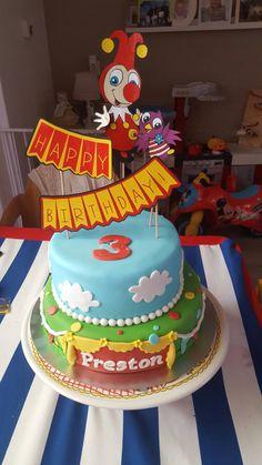Het zoontje van Joyce werd 3 jaar en kreeg deze gave taart van Jokie en Jet!