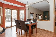 Spacious dining room with open floor plan, perfect for entertaining  3847 Tessier Trail, Vadnais Heights, MN 55127  http://www.movingtominnesota.com/property-item/gorgeous-vadnais-heights-home/