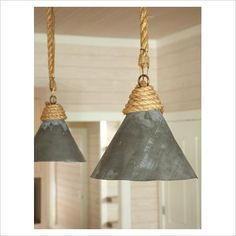 industrial rope pendant lighting - Bing Images