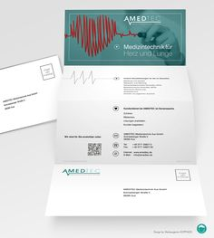 Design Product Folder ::  Customer: AMEDTEC :: Designer: Werbeagentur KOPFNUSS