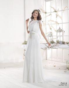 Vestido de novia ibicenco JAZMIN - Cala | VILLAIS