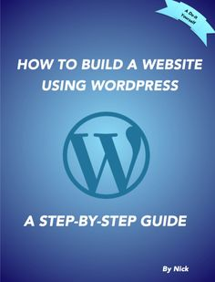 This Ebook is a complete guide showing all the step needed from Buying Hosting and a Domain name to the complete set up of WordPress. This is a perfect Ebook for the Beginner business owner looking to break into the online world of business....