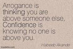 confident vs arrogant - Поиск в Google