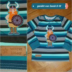 Schmales Shirt in Größe 98☆☆☆ Schnitt aus dem Babyleicht Buch von Pauline Dohmen ☆☆☆  genäht von Sarah D.-W.