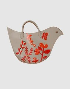 bird purse. cool cool. reminds me of a peep with better colors