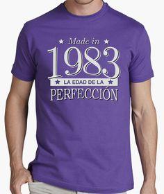 Camiseta Made in 1983 La edad de la perfección