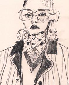 Preliminary sketch  @prada @numerotokyo by buttonfruit