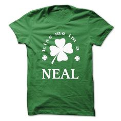 Awesome Tee [SPECIAL] Kiss me Im A NEAL St. Patricks day T shirts