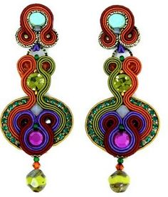 Dori Csengeri earrings are masterpieces.