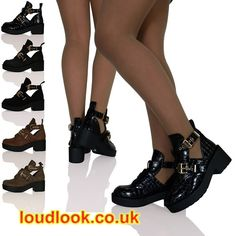 Loud Look is the cheapest online Seller of the Ladies Shoes in UK. Buy Ankle Cut Out Boots Leather with free delivery in UK. Our ankle boots for women comes in all varieties of colors, shapes and style.  Visit: http://loudlook.co.uk/ankle-boots/