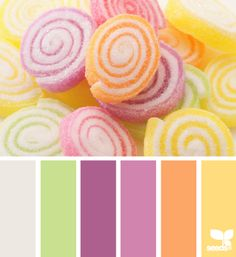 Sugared Brights | 10 Gorgeous Spring Color Palettes for Your Graphic Designs