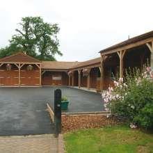 Premium timber stables
