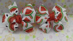 Hair Bow Boutique with Watermelon Hair Bow School от JuliaBabyShop