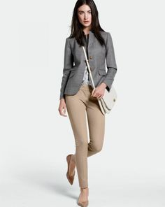 J.Crew Schoolboy blazer and Minnie pant. I have this outfit other than the pants