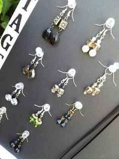 Earrings £4.50 + 80p p