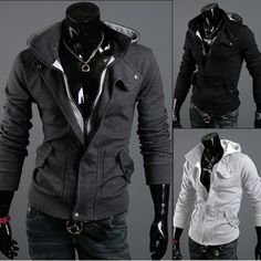 Free Shipping The hooded cardigan Leisure brushed sweater men's jacke-in Hoodies  Sweatshirts from Apparel  Accessories on Aliexpress.com $12.99