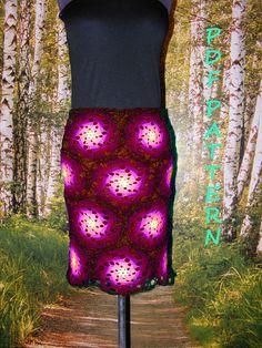 multicolor spiral crochet skirt pattern color-full pdf Crochet Skirt Pattern, Crochet Patterns, Spiral Crochet, Optical Illusions, Crochet Hooks, Different Colors, Pattern Design, Pdf, Make It Yourself