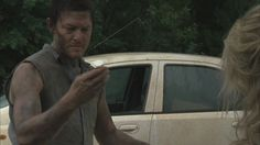 Dirty Daryl with drugs  [ The Walking Dead ]