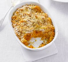 Low FODMAP Recipe and Gluten Free Recipe - Baked carrot, pumpkin & potato mash Making Mashed Potatoes, Mashed Sweet Potatoes, Fodmap Recipes, Gluten Free Recipes, Pumpkin Mash, Bbc Good Food Recipes, Soup Recipes, Vegetarian Recipes, Yummy Food
