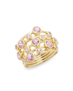 fe1bd674c73 Ippolita - Metallic Glamazon 18k Gold Lollipop Ring - Lyst