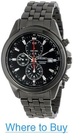 6e3833be260 Seiko Men s SNDF11 Classic Amazon Exclusive Casual Watch
