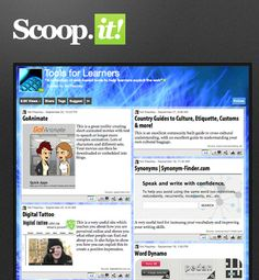 SCOOP.IT - Publish what you want! Scoop.it allows teachers to curate a custom magazine from the web. Want to stay on top of all the latest biology lessons, links, and tools? Scoop.it and have it delivered to you and others across social media.
