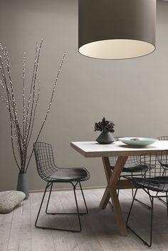 Warme kalkmatte kleuren voor op de muur   | roomed.nl