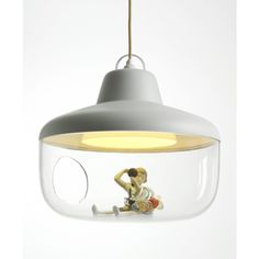decovry.com - Chen Karlsson for Eno | Favorite Things Lamp - Licht Grijs